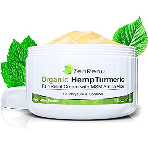 Organic Hemp Pain Relief