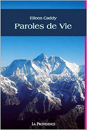 Télécharger un livre de google Paroles de Vie in French PDF PDB CHM