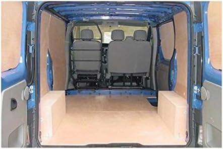 Paredes Seules madera – Trafic L1H1 – 2 puertas laterales – diseño de utilitarias: Amazon.es: Coche y moto