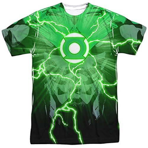 [Green Lantern- Power Surge T-Shirt Size XXXL] (Kyle Rayner Costumes)