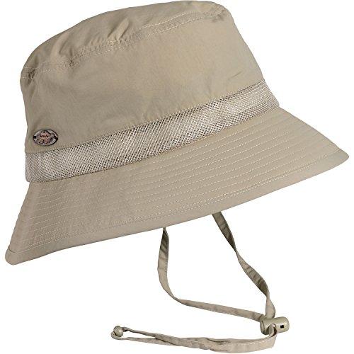 Turtle Fur Breezeway Bucket, Lightweight Packable Bucket Hat with Chin Cord, (Turtle Lightweight Hat)