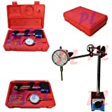 1'' Dial Indicator with Magnetic Base Fine Adj .001 Graudation + 22 Point Set