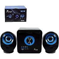 Caixa de Som 2.1 16W RMS Bluetooth Preta com Branco Knup KP-6012