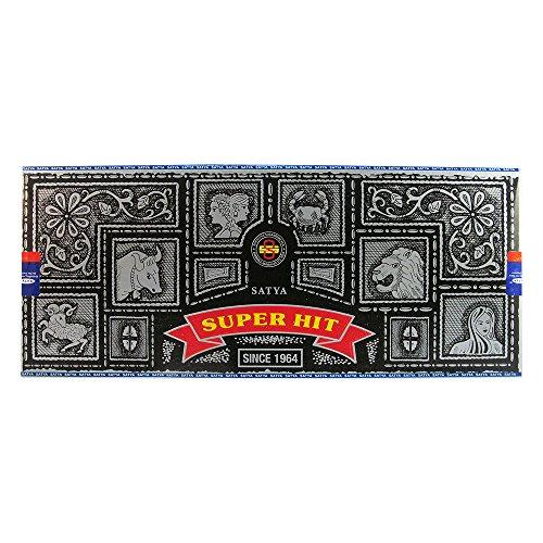 Nag Champa Satya Sai Baba Super Hit Incense Sticks 180 Gram Box (180g)