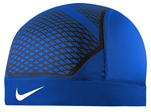 - Nike Pro Hypercool Vapor Skull Cap 4.0 (OSFM,Royal/Black