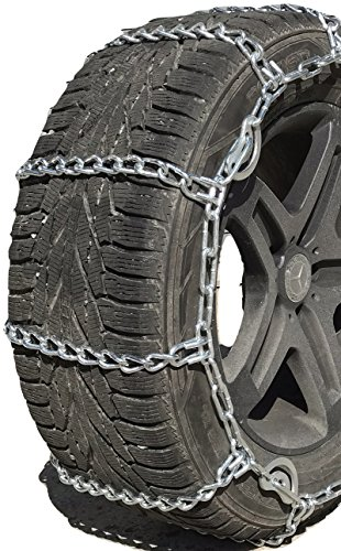 TireChain.com 3231 35X12.5-18 Cam Tire Chains Rubber Tensioners