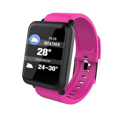 ZLOPV Smart Watch 2019 Pantalla Grande Ritmo cardíaco Presión ...