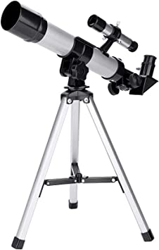 Telescope with Collapsible Tripod Little Experimenter 2-in-1 Kids Projector