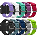 Band For Garmin Vivoactive, Soft Silicone Replacement Watch Band for Garmin Vivoactive / Vivoactive Acetate (No Tracker, Replacement Bands Only)