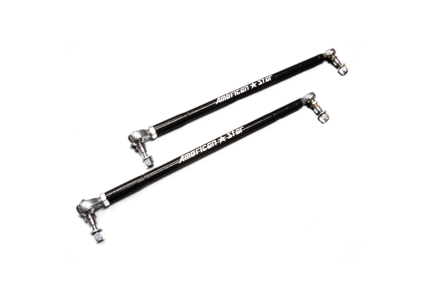 American Star PRO MOLY Tie Rods and Ends for Kawasaki Brute Force 650i, 750i & KFX700 by American Star Manufacturing