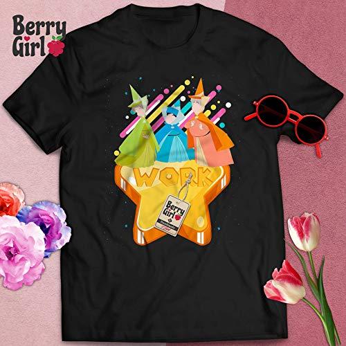 Godfairy Godmother Cartoon Character Sleeping Princess Fairy Tale Halloween T-Shirt Hoodie/Long Sleeve/Tank Top/Sweatshirt