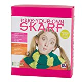 Authentic Knitting Board Skarf Kit/Yarn, Lime Green