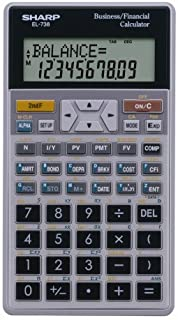 amazon com sharp el 735 business data calculator owner s manual rh amazon com sharp financial calculator el-735 manual sharp financial calculator el-738 manual