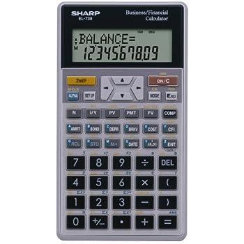 Able Victor Tech El738fb Advanced Financial Calculator Calculators Office Equipment