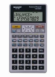 amazon com sharp el 738fb 10 digit financial calculator electronics rh amazon com Sharp User Manual User Manual Sharp Fax Machines