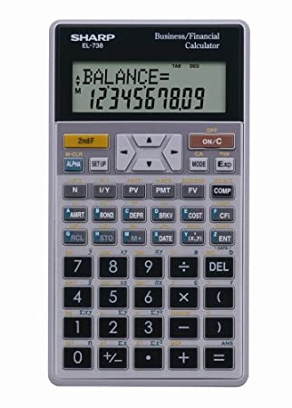 AmazonCom  Sharp ElC Digit Financial Calculator  Electronics