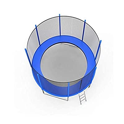 Fowoukior 12 FT Kids Trampoline Outdoor Trampoline with Enclosure Net Jumping Mat and Spring Cover Padding (As Shown, 1Set): Clothing
