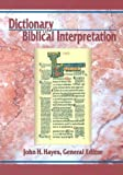 Dictionary of Biblical Interpretation, , 0687055318