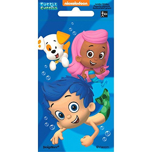 Bubble Guppies Jumbo Sticker | Party Favor]()