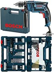 Bosch, Rotomartillo GSB 13 RE + Juego Mixto de Brocas y Puntas de Atornillado Bosch MS4091