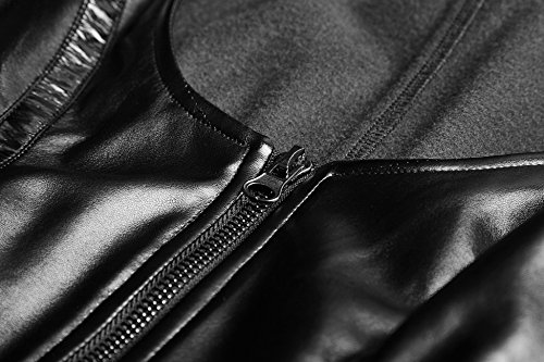 Punk Rave - Abrigo - para mujer negro