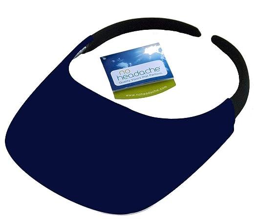 27b59d0a Amazon.com: The No Headache Visor, Navy Blue: Sports & Outdoors