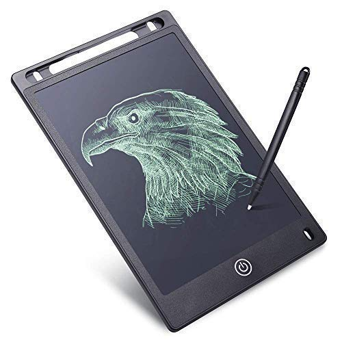 RYLAN Portable LCD Writing Board Slate Drawing Record Notes Digital Notepad with Pen Handwriting Pad Paperless Graphic Tablet for Kids at Home School, Writing Pads, Writing Tablet, Drawing Tablets