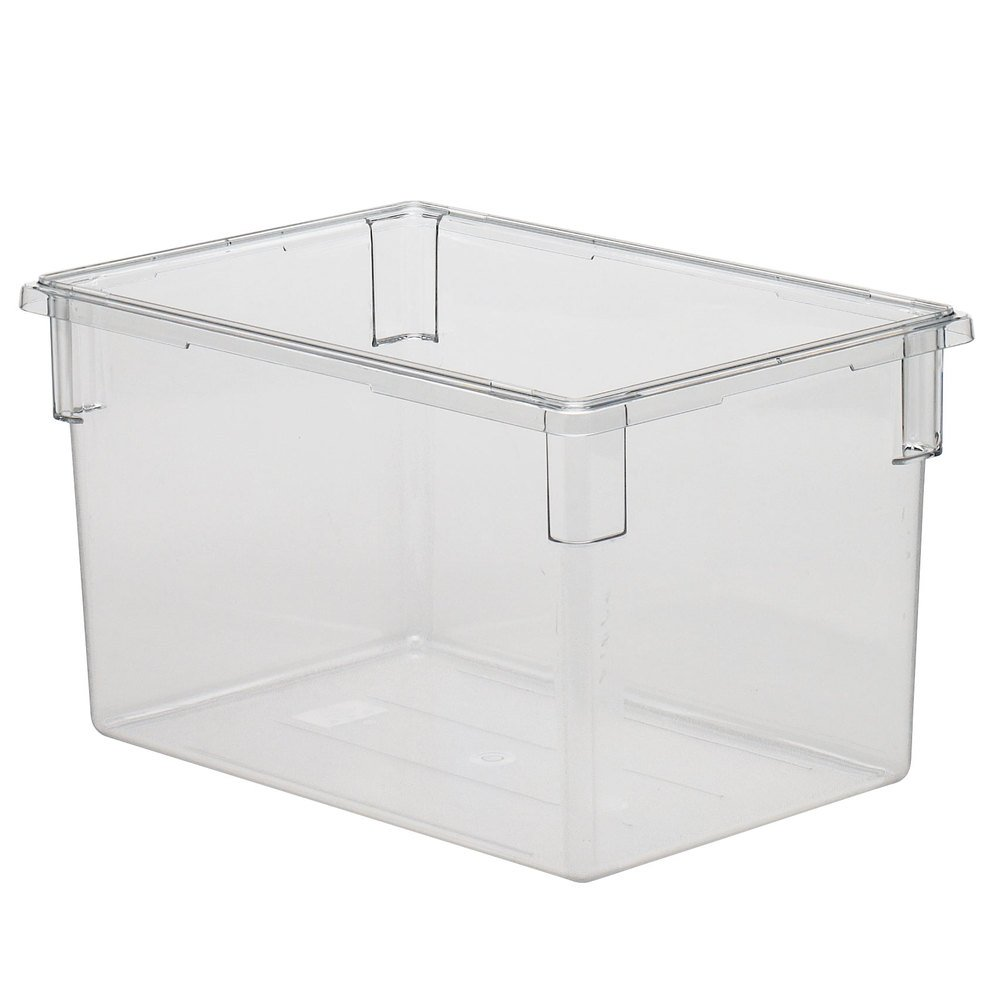 Amazon.com Cambro 182615CW 22 gallon Capacity 26  Length x 18  Width x 15  Height Camwear Clear Polycarbonate Food Box Industrial u0026 Scientific  sc 1 st  Amazon.com : storage box sizes  - Aquiesqueretaro.Com