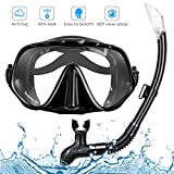 Best Mask And Snorkels - Amzdeal Snorkel Mask, Snorkeling Diving Mask Set Review