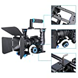CZJUN Aluminum Alloy Camera Movie Video Cage Kit Film Making System includes (1)Video