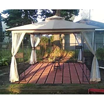 Rolston Gazebo Replacement Canopy Top Cover - RipLock 350  sc 1 st  Amazon.com & Amazon.com : Rolston Gazebo Replacement Canopy Top Cover - RipLock ...