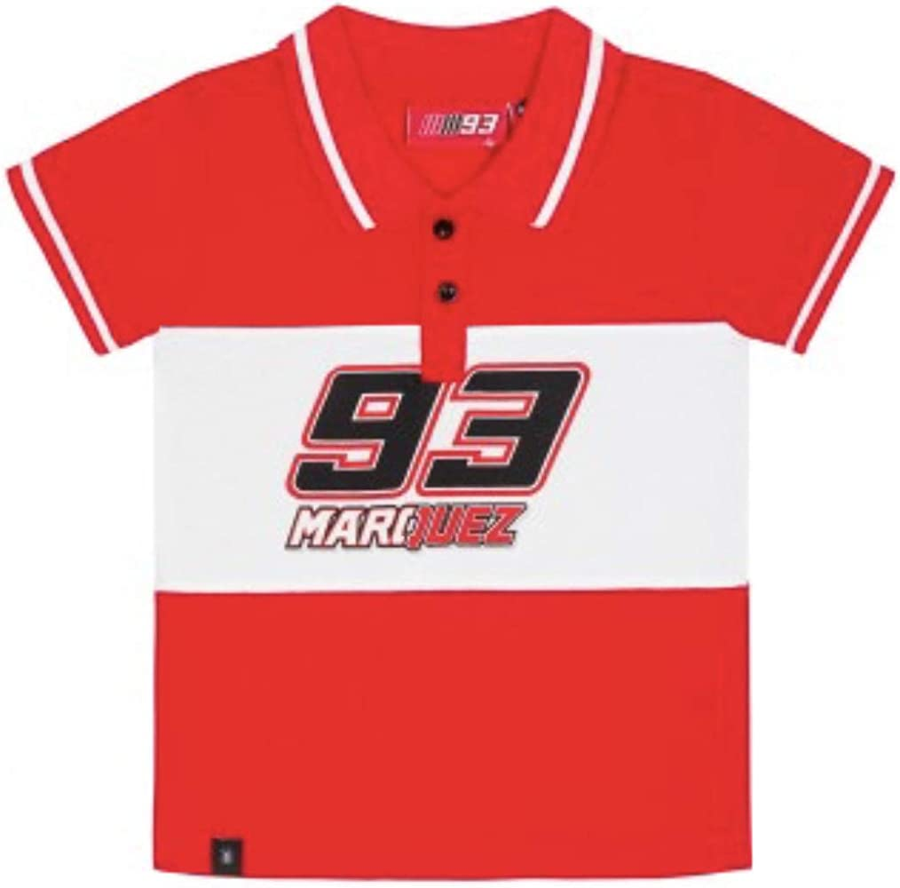 Amazon Com Marc Marquez 93 Motogp Children S Polo Shirt Kids Boys Age 2 11 Located In Usa Clothing