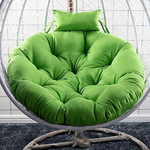 XinXiang Coussin de chaise suspendue pour fauteuil à bascule Home Blanc crème Blanc Crème