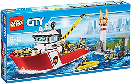 LEGO City Fire 60109 Fire Boat