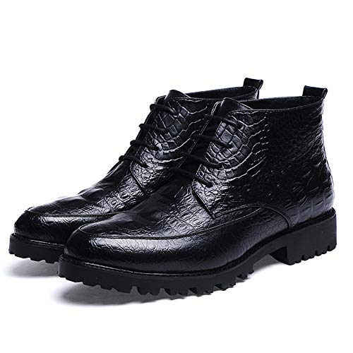 Footwear Footwear Footwear 38 38 38 38 Formal Ofgcfbvxd Trend Causale Nero Moda Work Tatuaggio Garde Leggero Stivaletti EU Marrone Color Dimensione alla Maschile Avant Coccodrillo T7HqTOv