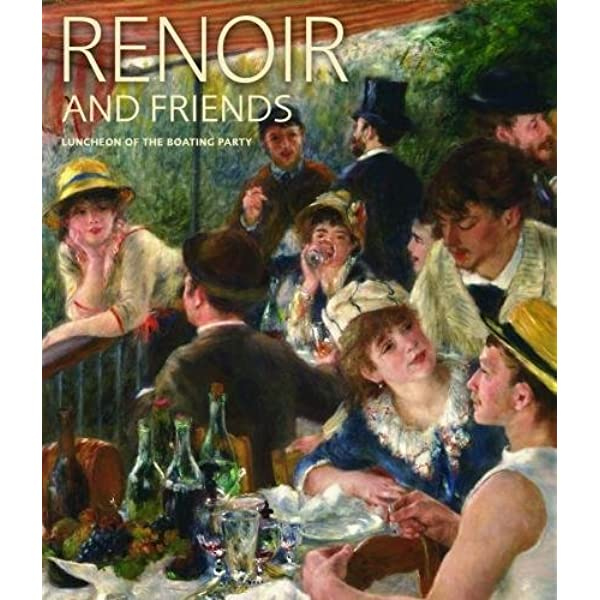 RETURN OF A BOATING PARTY BEACH WOMEN CHILDREN DOG BOAT 1862 BY RENOIR REPRO