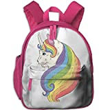 Colorful Cat Unicorn School Book Bag Cute Shoulders Bags Backpack Bag For Girls Boys