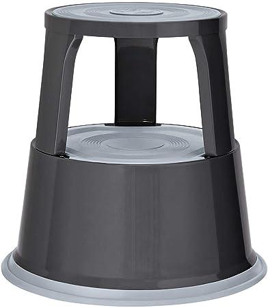 Wedo 212212 Rollhocker Step aus Kunststoff Tragkraft 150 kg grau H/öhe 43 cm