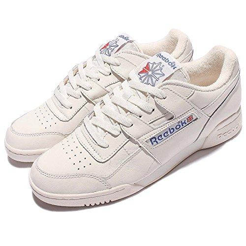 Sneaker Reebok Workout Plus Vintage en piel blanca Blanco