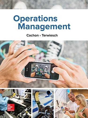 Operations Management, 1e (Mcgraw-hill Education Operations and Decision Sciences)
