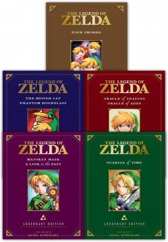 The Legend of Zelda Legendary Edition Collection 5 Books Set