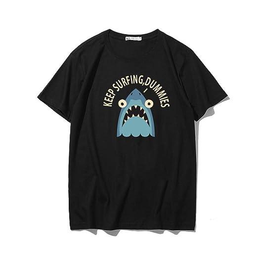 H.ZHOU Camiseta de Manga Corta para Hombre 100% Algodón TY-019 ...