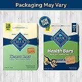 Blue Buffalo Health Bars Natural Crunchy Dog Treats Biscuits, Apple & Yogurt 48-oz box