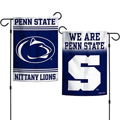 Elite Fan Shop Penn State Nittany Lions Garden Flag 12.5