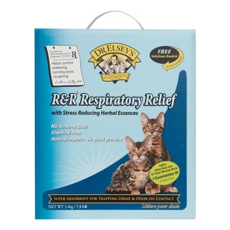 7.5 lb Respiratory Relief Silica Cat Litter 2 Pack