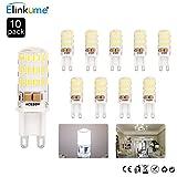 10*Super Bright G9 led AC 200V - 240V bulbs G9 led bulbs Cool White led 5W led G9 bulb 64 SMD 3014 LED Light Bulb LED capsule G9 led bulbs free delive