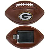 NFL Green Bay Packers Football Bottle Opener Magnet, 3-Inch, Brown