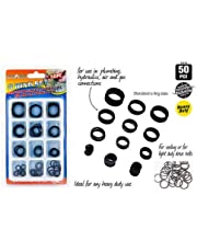 50 PC Rubber O Ring O Ring KIT Set 12 Assorted Sizes Seals AUTO
