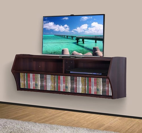 Mounted Floating Entertainment Center