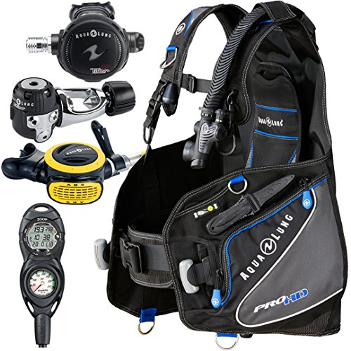 Gear Diving Aqualung - Aqua Lung Pro HD BCD i300C Dive Computer Titan / ABS Regulator Set